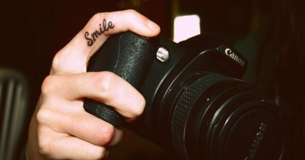 For all those photographers out there, this is such a cute tattoo