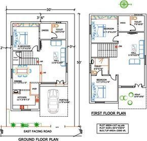 1000 Sq Ft Duplex Indian House Plans 20x30 House Plans Indian House Plans Duplex House Plans