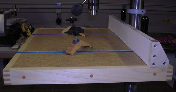 Bench Top Drill Press Table - by RetiredCoastie ...