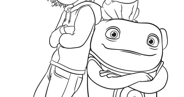 oh movie coloring pages - photo#8