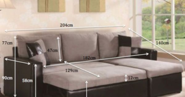 Details About Sofa Bed New Corner Sofa 3 Seater Faux Suede Fabric Cushion Cover Storage Corner Sofa Pull Out Sofa Bed Pull Out Sofa