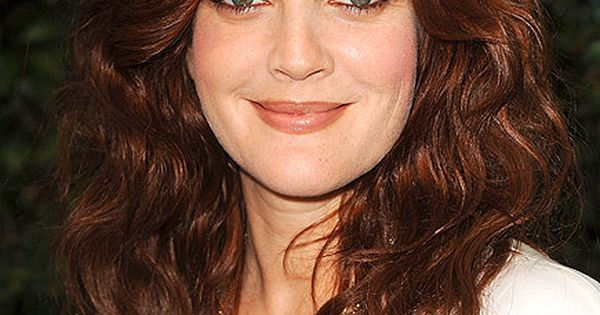 Drew Barrymore Auburn Hair Color