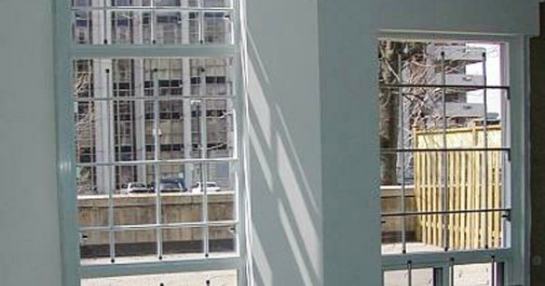 Removable aluminum security bars for residential windows