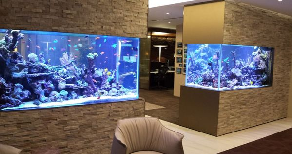 30 Incredibly Awesome Ideas To Beautify Your Home With Aquariums Fish Tank Design Fish Tank Wall Fish Tank