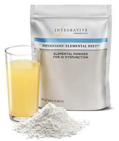 Physicians Elemental Diet Integrative Therapeutics Elemental Diet Diet Liquid Diet