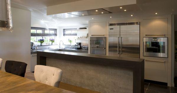 Paul van de Kooi - luxe keukens met kookeiland  keuken  Pinterest ...