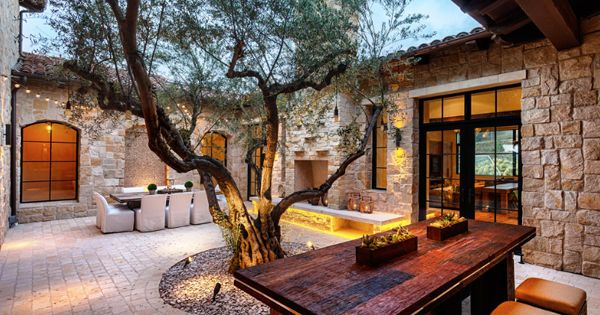 58 Most sensational interior courtyard garden ideas  겨울, 조경 및 건축