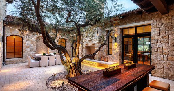 58 Most sensational interior courtyard garden ideas  겨울, 조경 및 건축