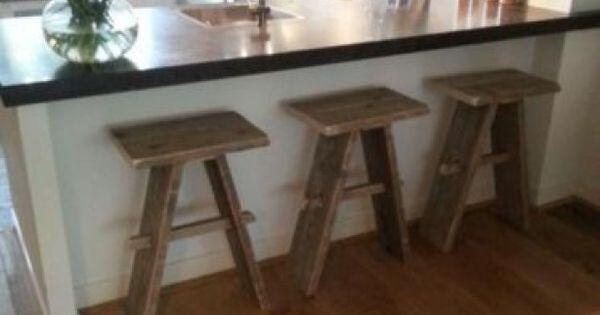 Keukenkasten Zonder Front : Stoere barkrukken, deze zouden zeker mooi ...
