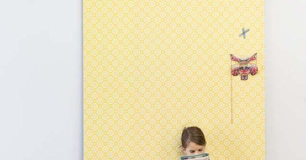 Karwei zonnig geel behang voor een stralende kamer kinderkamer wooninspiratie karwei - Behang voor een kamer ...