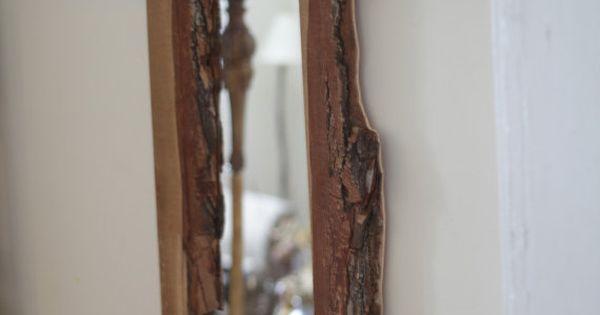 Natural Raw Edge Handmade Wooden Full Length by ...