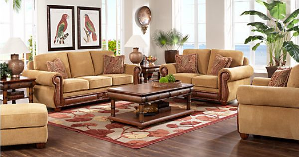 Picture Of Cindy Crawford Home Collection Key West 7 Pc Living Room From Living Room Sets