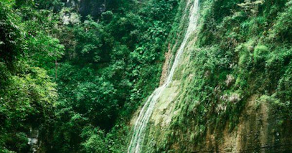 Yangtze River waterfall in China • photo: Berit Watkin on Flickr