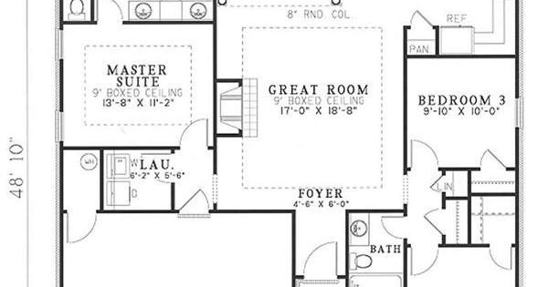 Right under 1400 sq ft plan so many things i like about for 1400 sq ft house plans with basement