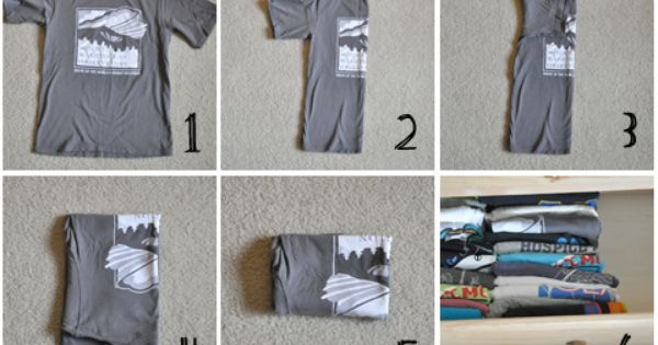 Darkroom and Dearly: DIY Projects how to fold your shirts so you
