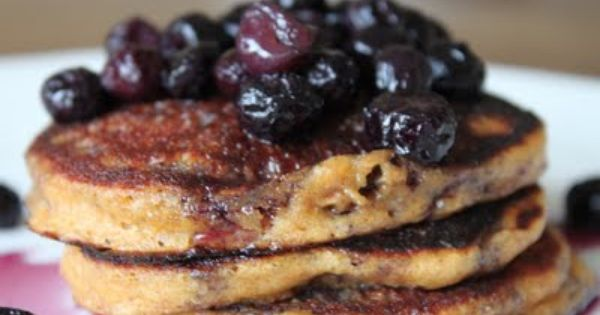 Yogurt, Berries and Blueberry compote on Pinterest