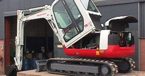 Takeuchi Tb145 Compact Excavator Parts Manual Download Sn 14510004 And Up Excavator Parts Excavator Manual