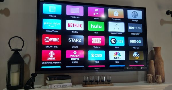 Apple Tv 32gb 4th Generation With Images Apple Tv Tv