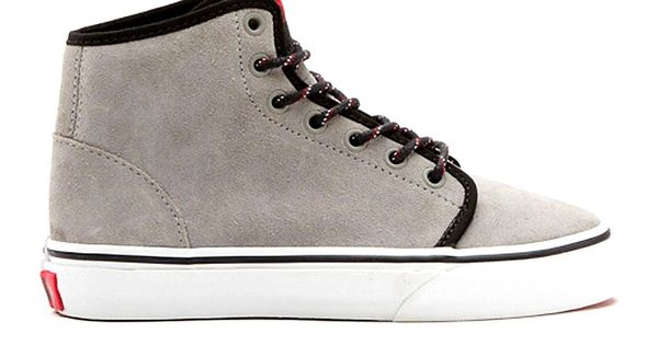 Vans Suede 106 Hi Kids Shoes (wild dove/true white) : New Arrivals