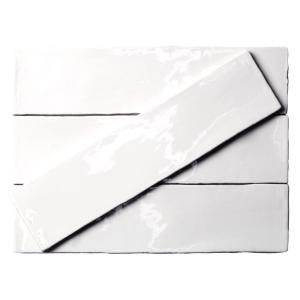 Ivy Hill Tile Catalina White 3 In X 12 In X 8 Mm Ceramic Wall Subway Tile 44 Pieces 10 76 Sq Ft Case Ext3rd101703 With Images Subway Tile Ceramic Wall Tiles Splashback Tiles
