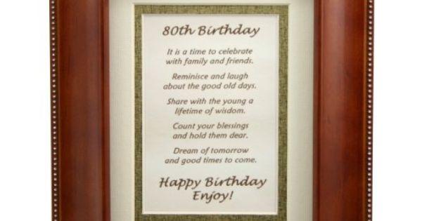 80th birthday toasts just bcause