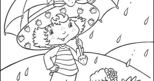 Cómo Dibujar Libro Para Colorear Pastel Para Niños: Dibujos Para Colorear Fresita-Tarta De Fresa 17
