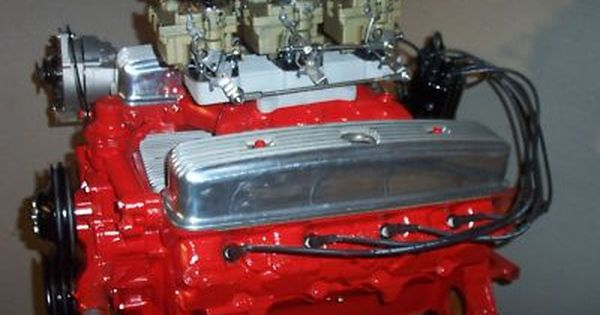 Buick nailhead 401 rebuilt .040 over tripower new parts