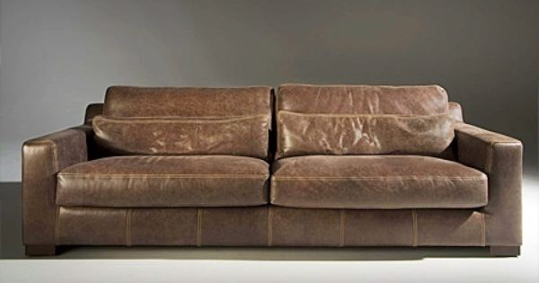 Moderne ledercouch  Details zu TANGO, Ledersofa braun vintage Naturleder,moderne ...