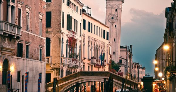 Leaning Tower, Venice, Italy