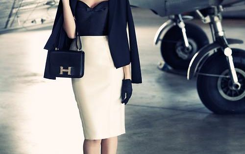enroutemagazine: This thirties-inspired haute look is truly runway-ready.Avec son look années 30,