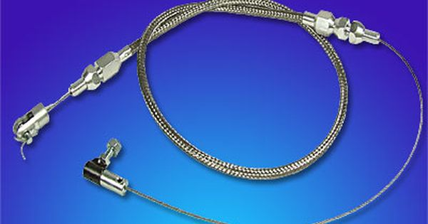 The Hot Rod Company Stainless Steel Throttle Cable Throttle Stainless Steel Hot Rods