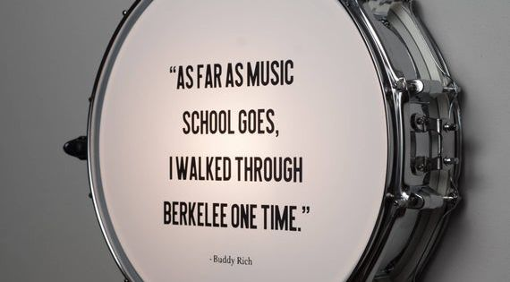 Snare Drum Wall Light With Buddy Rich Quote In 2020 Snare Drum
