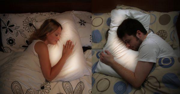 um soo perfect for deployment! Long Distance Pillows: Scottish designer Joanna Montgomery
