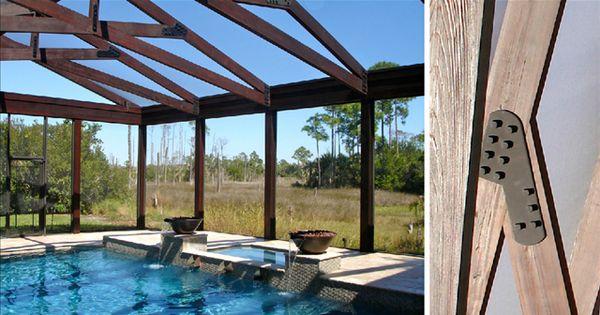 Beautiful Screened In Pool Enclosure Great Alternative To