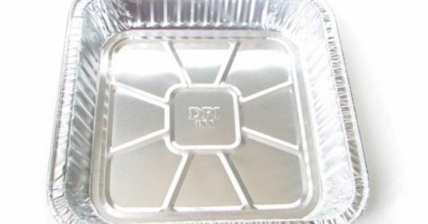9 Disposable Aluminum Square Foil Cake Pan 1100nl Square Cake