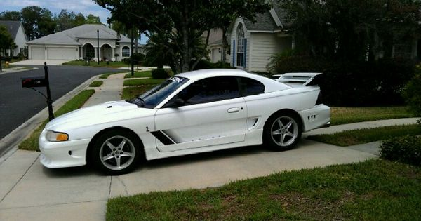 supercharged 1997 ford mustang saleen in triple white. Black Bedroom Furniture Sets. Home Design Ideas