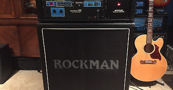 Rare Sr D Rockman 500 Stage Head Half Stack Mint Condition Buy