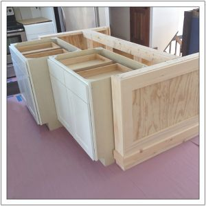 Build A Diy Kitchen Island Basic With Images Building
