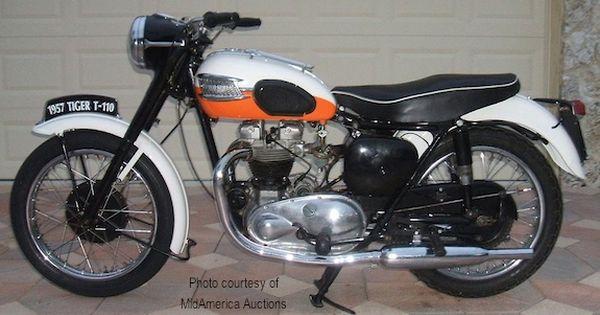 1957 Triumph Thunderbird Triumph Thunderbird Triumph Motorcycles Triumph