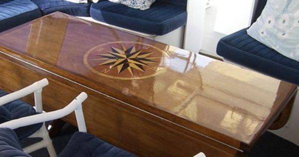 Marine Tables Hi Low Tables From Arrigoni Design Table Boat Table Nautical Furniture