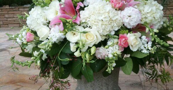 Urn Arrangement Wedding DIY Pinterest Weddings And Church Flowers