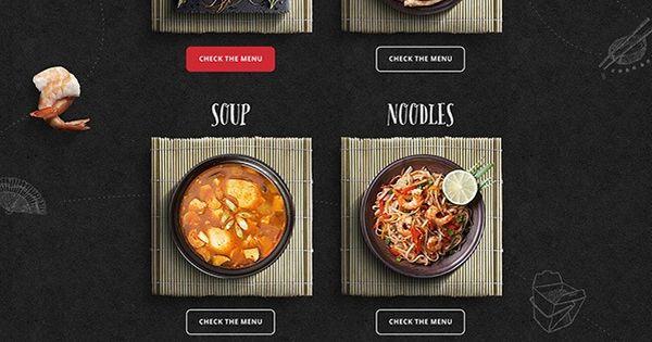 Chinwa A Chinese Suisine In Saudi Arabia Webdesign Restaurant