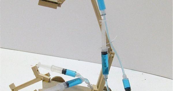 Hydraulic Arm Science Fair Projects : Hydraulic crane kidder hydraulics pinterest simple