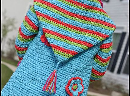 Crochet Springtime Friends Hoodie pattern... hmmm... maybe making one of these for