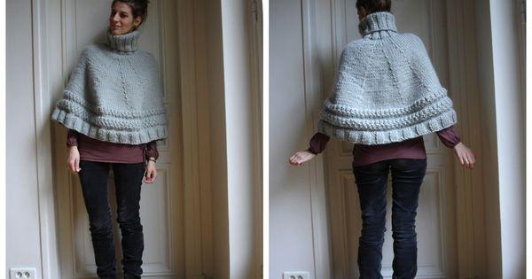 tuto du poncho odilon de f licie paris j 39 tricoter bonnets gants charpes. Black Bedroom Furniture Sets. Home Design Ideas