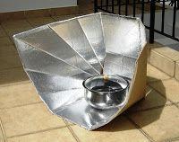 Tutorial Como Hacer Una Cocina Solar Portatil Plegable Con