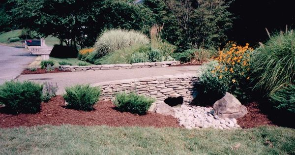 Driveway Culvert Landscaping Driveway Pinterest Driveways Landscaping And Yards