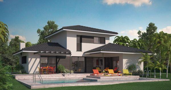 Maison villa florida couleur villas 188800 euros for Construire sa villa