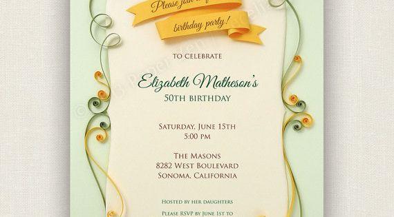 Invitation To Party for beautiful invitation sample
