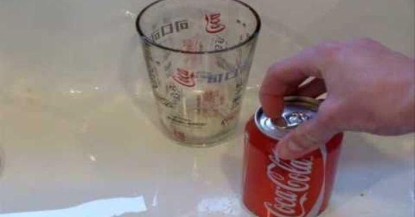 How To Empty Cans For Display Canning Coke Cans Coke